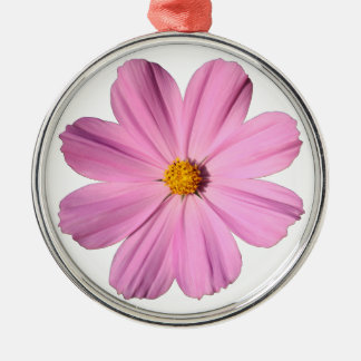 Pink Cosmos Christmas Ornament