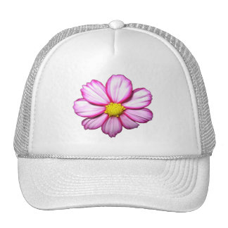 Pink Cosmos Flower Hat
