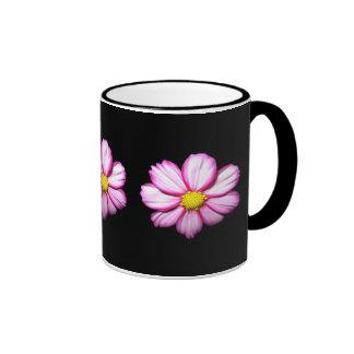 Pink Cosmos Flower Mug