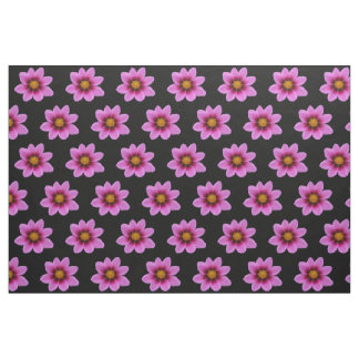 Pink Cosmos Flowers Fabric