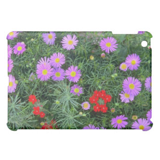 Pink Cosmos flowers iPad Mini Cases