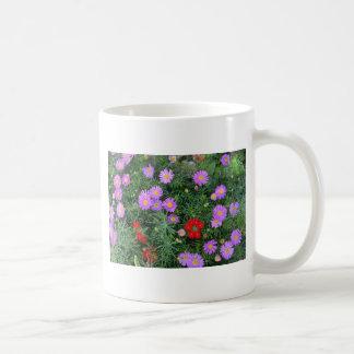 Pink Cosmos flowers Mugs