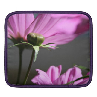 Pink Cosmos in the sun #3 Sleeve For iPads