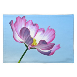 pink cosmos placemat