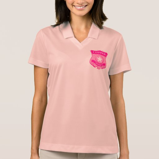 Pink Cotter Research Polo