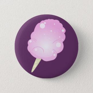 Pink Cotton Candy 6 Cm Round Badge