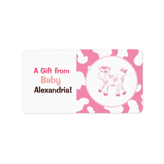 Pink Cow Farm Custom Labels / Stickers
