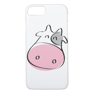 Pink Cow iPhone 7 Case