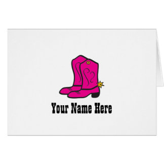 Pink Cowgirl Boots Notes