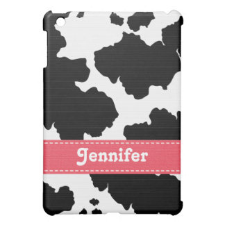 Pink Cowhide  iPad Mini Case