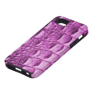 Pink Croc skin Case For The iPhone 5