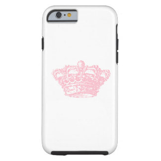 Pink Crown Tough iPhone 6 Case
