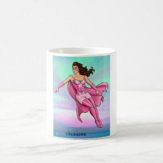 Pink Crusader Floating Mug