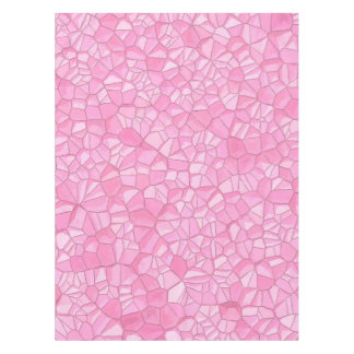 "Pink crystal Cotton Tablecloth, 52""x70"" Tablecloth"