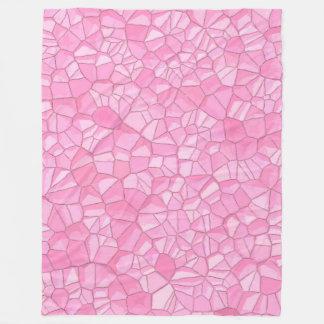Pink crystal Fleece Blanket, Large