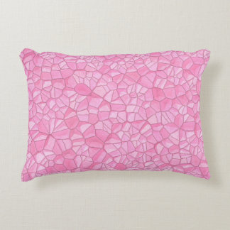 """Pink crystal Polyester Accent Pillow 16"""" x 12"""""""