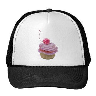 Pink Cupcake and Cherry Mesh Hat