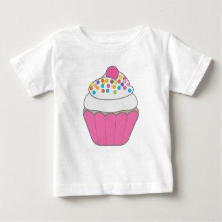 Pink Cupcake Baby T-Shirt