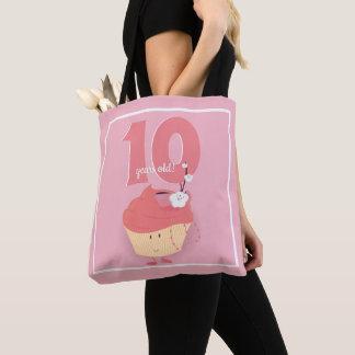 Pink Cupcake Birthday   Tote Bag