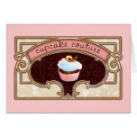 Pink Cupcake Couture Sign Logo Banner