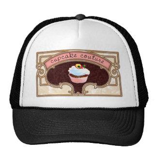 Pink Cupcake Couture Sign Logo Banner Cap