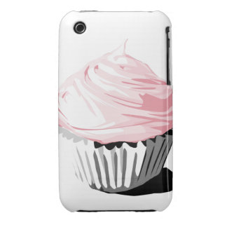 Pink cupcake iPhone3G Case-Mate iPhone 3 Cases