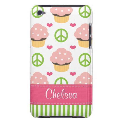Pink Cupcake iPod Touch Case Cover