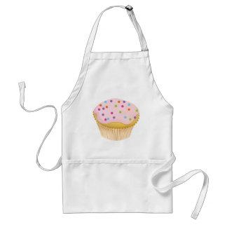 Pink Cupcake Standard Apron