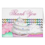 Pink Cupcake Thank You
