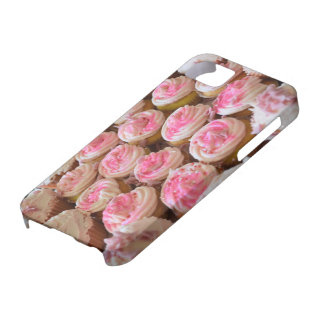 Pink Cupcakes Barely There iPhone 5 Case