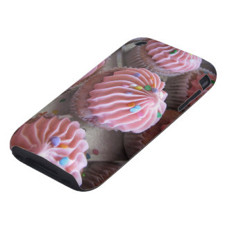 Pink cupcakes iPhone case 3gs