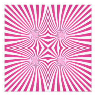 Pink curved line pattern photo