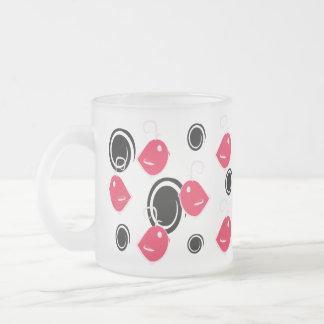 pink cute baby birds pattern mug
