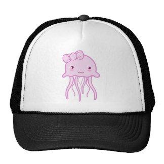 Pink Cute Jellyfish Cap
