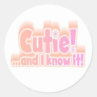 Pink Cutie Stickers