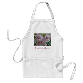 Pink Cymbidium, Orchid Lover Apron