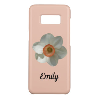 Pink Daffodil Beautiful Spring Flower Case-Mate Samsung Galaxy S8 Case