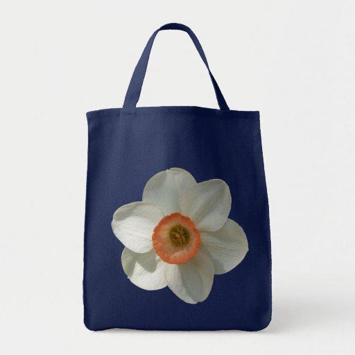 Pink Daffodil Tote Bag