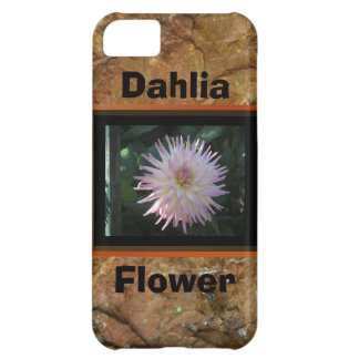 Pink Dahlia Flower iPhone 5C Cover