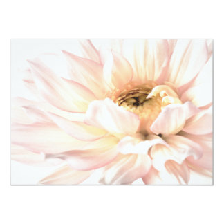 Pink Dahlia Flower - Dahlias Customized Template Card