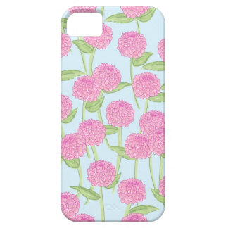 Pink Dahlia Garden iPhone Case