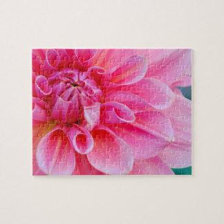 Pink Dahlia Jigsaw Puzzle