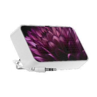 Pink Dahlia Portable Speaker