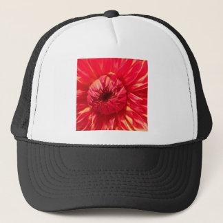 Pink Dahlia Trucker Hat
