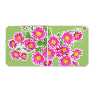 Pink Daisies / Asters Bouquet + your ideas Pong Table