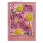 Pink Daisies - Mawlid al-Nabi Card