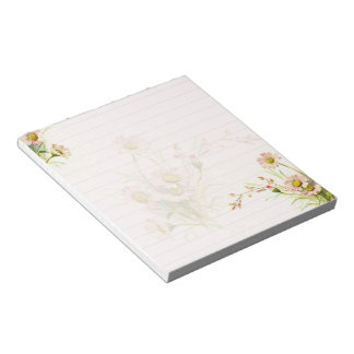 Pink daisies notepads