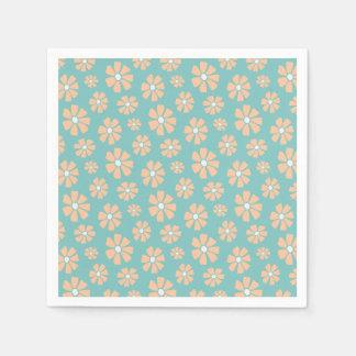 Pink Daisies Paper Napkin