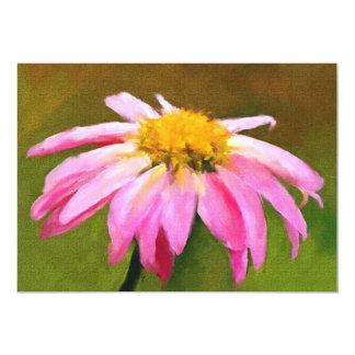 Pink Daisy 5x7 Mini Prints Card