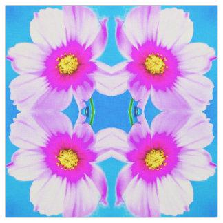 Pink Daisy Blues Fabric